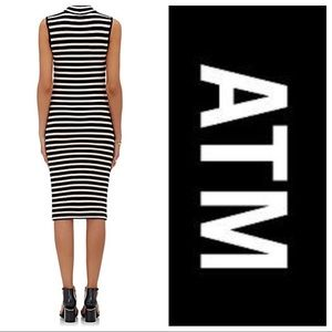 ATM Anthony Thomas Melillo Dresses - NWT ATM Stripe Jersey Dress